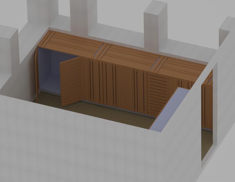 Un peu d 39 agencement penderie et placard sur mesure dans une chambre grabouille artisan du bois - Agencement chambre ...